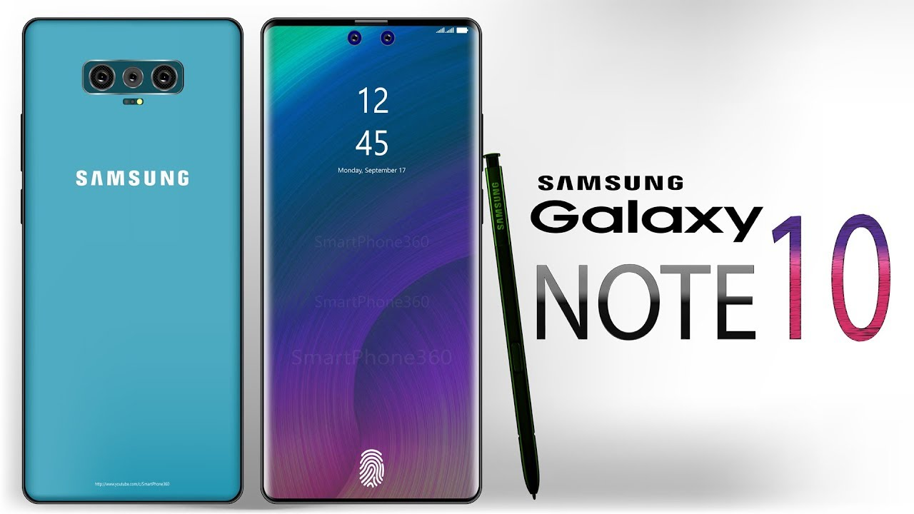 Samsung Galaxy Note 10 Feature and Specification 2019