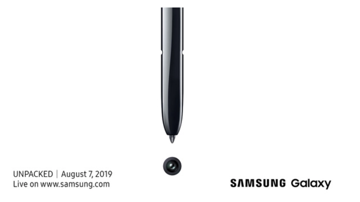 Samsung with its next Note Flagship (Galaxy Note10): Expect the unexpected.