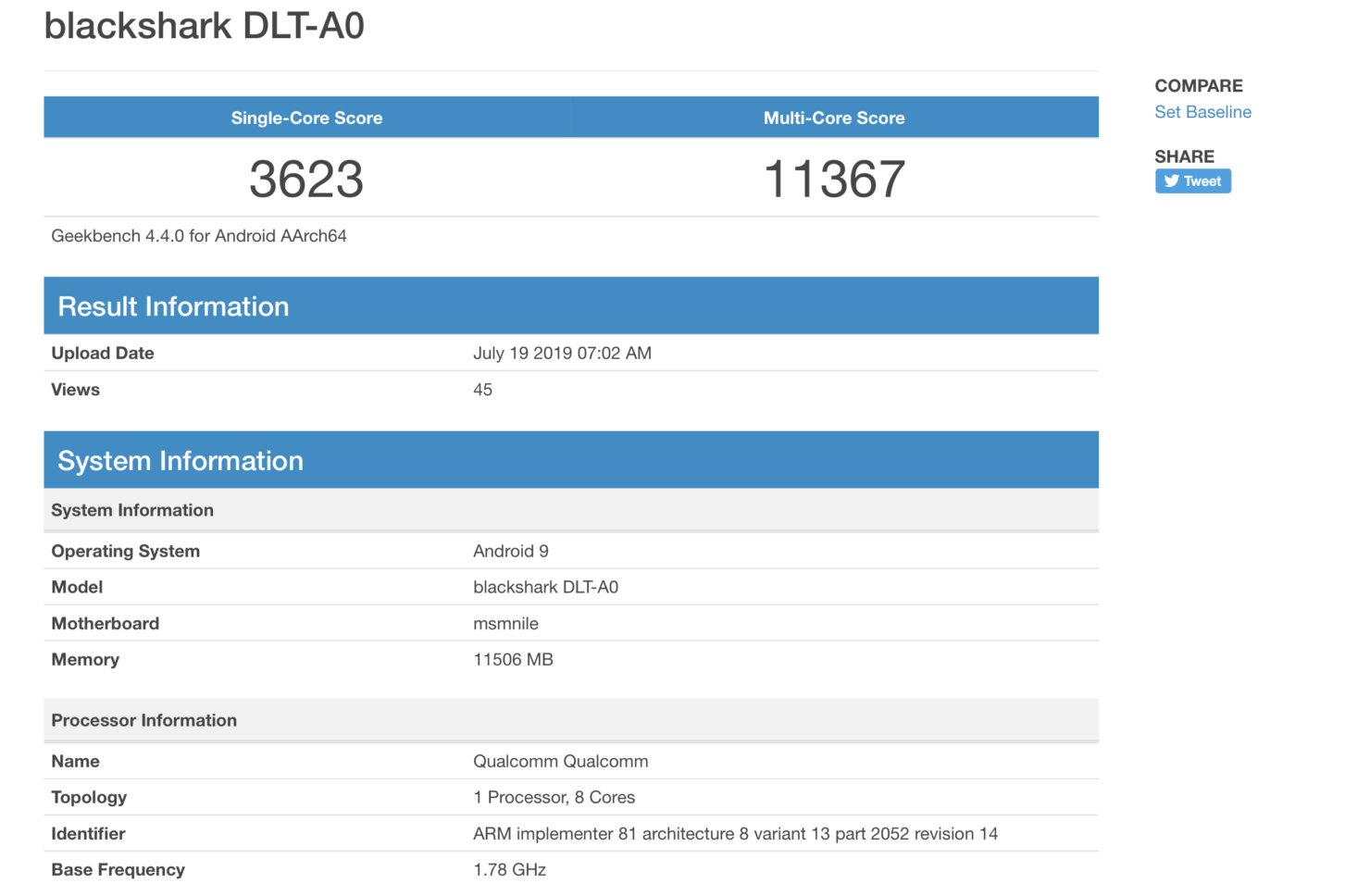 Galaxy Note 10 Snapdragon 855 benchmarks