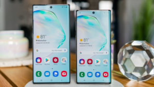 Samsung Galaxy Note 10 and Note 10 +