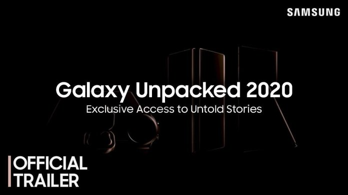 Samsung Unpacked Event 2020