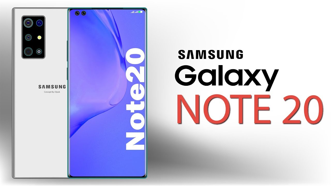 Samsung Galaxy Note 20 Concepts, Renders & Design
