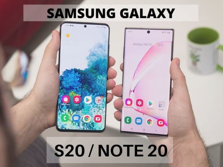 Samsung Galaxy Note 20 vs. Samsung Galaxy S20? Which one is the Best?