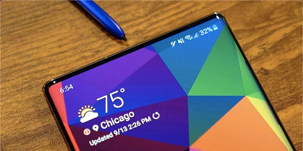 galaxy note 20s display