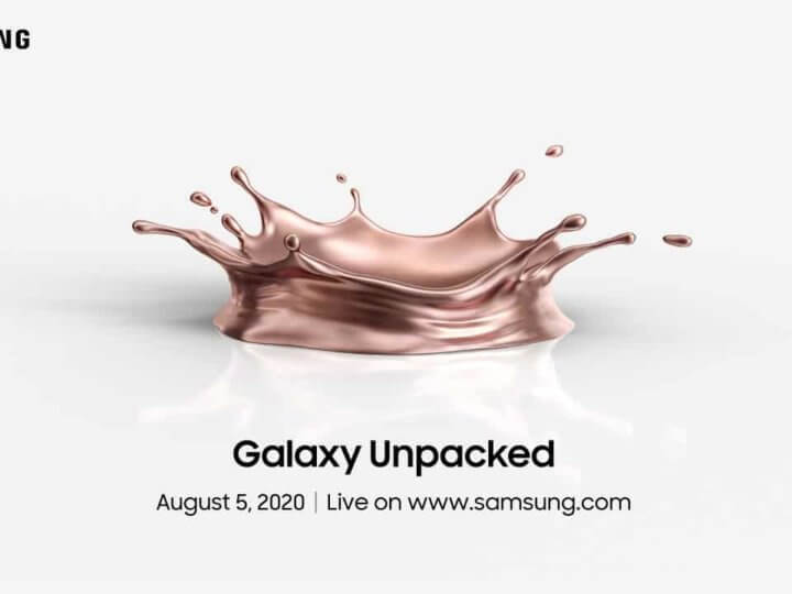 Galaxy Note 20: Samsung Unpacked Aug 2020 | Watch Live Stream Here